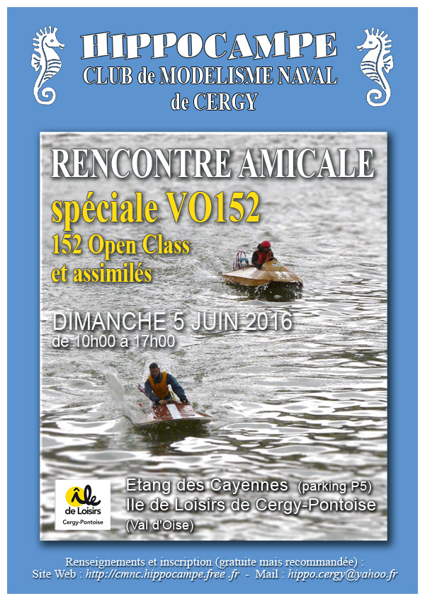 Rencontres amicales cergy